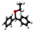 Benzhydryl ethyl ether3D.png
