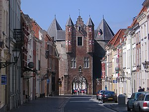 Bergen op Zoom - Gevangenpoort, the oldest monument in Bergen op Zoom