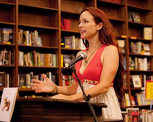 Beth Ann Fennelly - Fennelly at Off Square Books in 2013