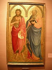 Saints John the Baptist and Matthew