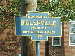 Official logo of Biglerville, Pennsylvania