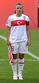 Bilgin Defterli Turkish womens footballer