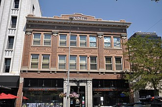National Register of Historic Places listings in Yellowstone County, Montana - Image: Billings MT Acme Building