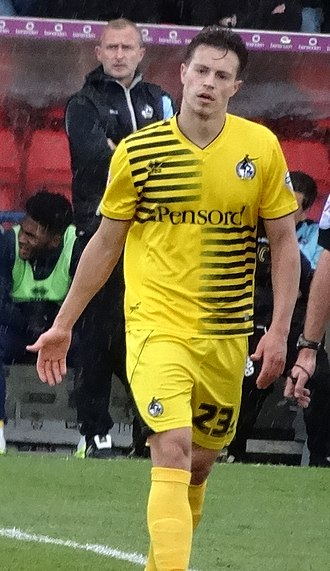 Billy Bodin - Bodin playing for Bristol Rovers in 2016