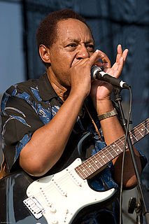 Billy Boy Arnold American blues harmonica player, singer and songwriter