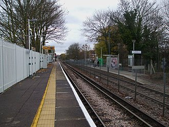 Birkbeck station - Station in 2008