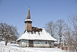 Wooden church in Zalnoc