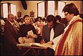 Black Family Signing The Church Registry At The Church Of The Messiah After The Baptism Of Babies In The Congregation. On The South Side Of Chicago, 08-1973 (8674867661).jpg