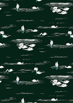 Motif (textile arts) - Motif textile réalisé sur Illustrator CS6 en 2016 par Claire Laurent (France)