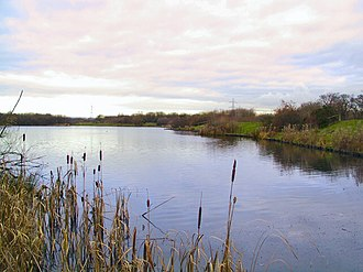 Walkden - A lake at Blackleach Country Park
