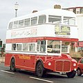 Blackpool Transport Routemaster bus 528 ex-RM1357 (357 CLT), Blackpool, April 1994, cropped.jpg