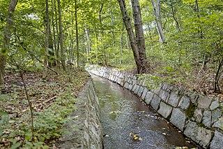 Blackstone River River in Massachusetts and Rhode Island, USA