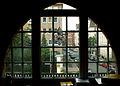 Blick durch das Fenster des Direktorinnenbüros vom Kindergarten St. Martin durch die Erichstraße zur Badenstedter Straße.jpg