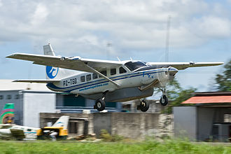 Blue Wing Airlines - Blue Wing Airlines Cessna 208 Caravan PZ-TSB take-off from SMZO