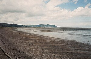 Blue Anchor to Lilstock Coast SSSI - Image: Blue Anchor Bay geograph.org.uk 1069571
