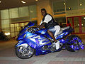 Blue VIP Hayabusa at Black Bike Week Festival 2008.jpg