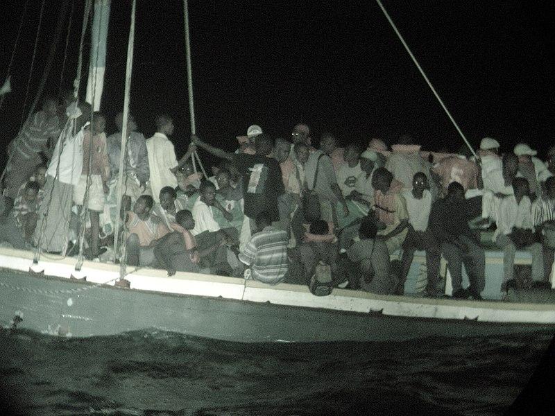File:Boat People from Haiti.jpg