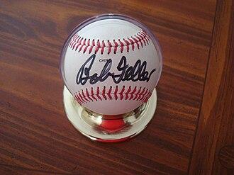 Bob Feller - Feller's signature, circa 1992-93