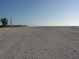 Boca Grande, Florida - Same Beach, looking south in November after re-naturing.