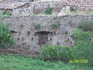 Ecomuseo delle ferriere e fonderie di Calabria - Image: Bocca di una delle miniere di Pazzano
