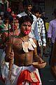 Body Pierced Gajan Sannyasi with Sword - Bainan - Howrah 2015-04-14 8046.JPG