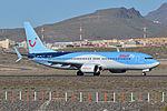 Boeing 737-8K5(w) 'OO-JAV' Jetairfly (24927103871).jpg