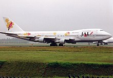 Boeing 747-246B, Japan Airlines - JAL Super Resort Express AN0216675.jpg