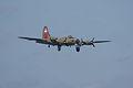 Boeing B-17G-85-DL Flying Fortress Nine-O-Nine Landing Approach 03 CFatKAM 09Feb2011 (14797192100).jpg