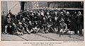 Boer War; a group of wounded war veterans at the docks in En Wellcome V0015644.jpg