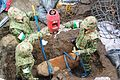 Bomb disposal in Sendai Airport.jpg