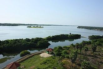 Bone Island - Image: Bone Island, Batticaloa Far view
