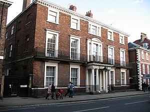 Bootham School - Bootham School, Bootham, York. The main building was originally built in 1804 for Sir Richard Vanden Bempde Johnstone