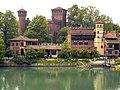 Borgo Medievale in primavera, Torino.jpg