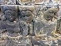 Borobudur - Divyavadana - 073 W, The Nun Saila teaches King Rudrayana and his Wives (detail 2) (11706549594).jpg