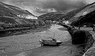 Fishing in Cornwall -  Boscastle Harbour