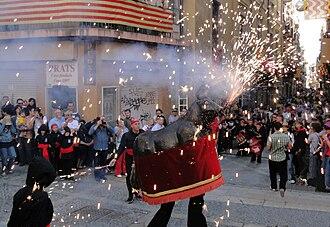 Santa Tecla Festival - Bou de Tarragona at the 2009 festival