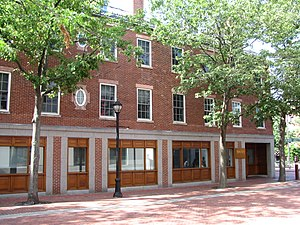 National Register of Historic Places listings in Salem, Massachusetts - Image: Bowker Place, Salem MA