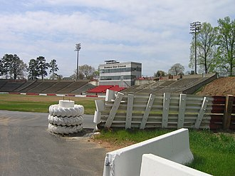 Bowman Gray Stadium - Image: Bowman Gray 1