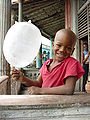 Boy Plays with Balloon That Isn't - Pinar del Rio - Cuba.JPG