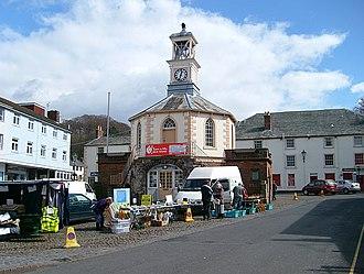 Brampton, Carlisle - Image: Brampton, Market Place geograph.org.uk 759295