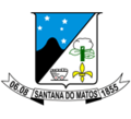 Official seal of Santana do Matos