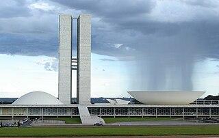 Národní kongres v Brasílii