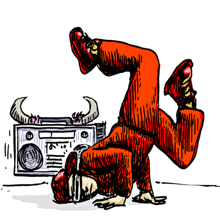 A depiction of a break dancer with a boombox Breakdance-oldschool.png