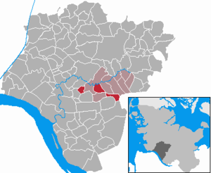 Breitenburg - Image: Breitenburg in IZ