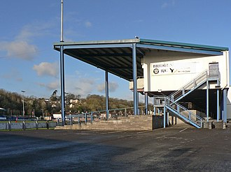 Brewery Field - Image: Brewery Field main stand geograph 1606369