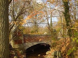 Bridge in Radnor Township No. 2 - Bridge No. 2 in Radnor Township, November 2009