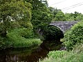 Bridge over Afon Alwen at Llanfihangel Glyn Myfyr - geograph.org.uk - 456093.jpg