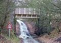 Bridge over Flash Lane, Wombourne, Staffordshire - geograph.org.uk - 628919.jpg