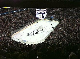 Bridgestone Arena - Bridgestone Arena January 15 2011, following a Predators game.