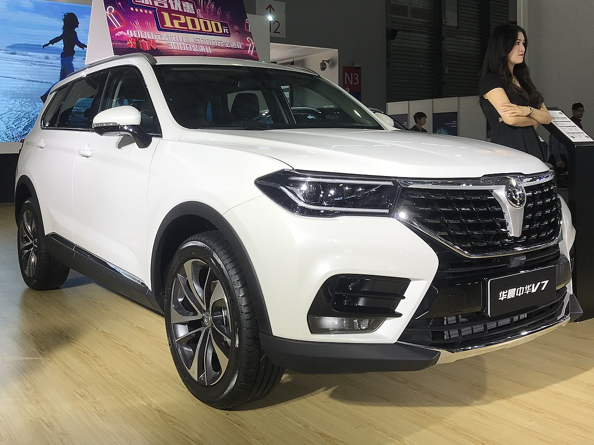 What Is A Crossover Suv >> Brilliance V7 - Wikipedia